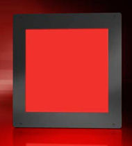 red LED backlight unit 100x100 mm LLUB PHLOX