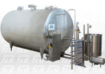 refrigerated stainless steel storage tank for milk 5 000 l | AAAC1   FDB S.r.l.