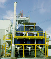regenerative thermal oxidizer for VOC and NOx reduction CR® series Ecochimica System s.r.l.