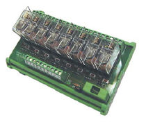 relay interface module with test push button 10 A, 125 - 250 V | RM series EL.CO.