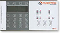 remote alarm control and data logging unit for GSM cellular networks TC16 E.D.&A.