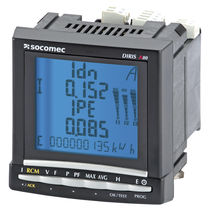 residual current monitoring device DIRIS A80 SOCOMEC