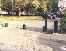 retractable bollard Bornosol KOPP France
