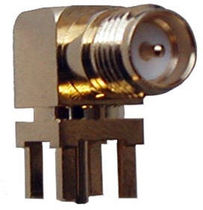 RF right angle coaxial connector CON-RPSMA-RA   Radiotronix