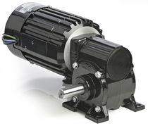 right angle AC worm electric gearmotor 1/3 HP, IP20, RoHS | 34R-5F series BODINE ELECTRIC COMPANY