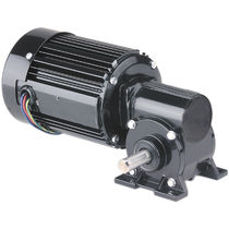 right angle AC worm electric gearmotor 1/6 - 1/4 HP, IP20, RoHS | 42R-5N, 42R-GB Series BODINE ELECTRIC COMPANY