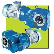 right angle bevel gear reducer 0.12 - 22 kW SNT