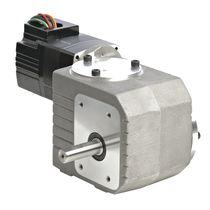 right angle brushless DC worm gearmotor 1/16 - 1/8 HP, IP20, RoHS | 22B-3RD Series BODINE ELECTRIC COMPANY