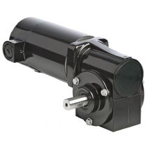 right angle DC electric worm gearmotor 1/17 HP, RoHS | 24A-3F Series BODINE ELECTRIC COMPANY
