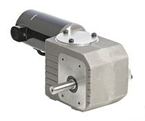 right angle DC electric worm gearmotor 1/29 - 1/17 HP, IP40, RoHS | 24A-3RD Series BODINE ELECTRIC COMPANY