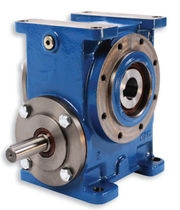 right angle double worm gear reducer 280 - 800 mm | A junior series BENZLERS
