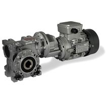 right angle electric double worm gearmotor 280 - 1 180 Nm, 0.18 - 0.75 kW | TA series VARVEL