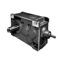 right angle spiral bevel gear reducer i= 130:1, max. 117 000 Nm | H series Radicon