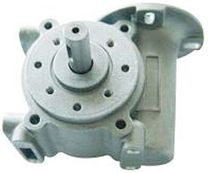 right angle worm gear reducer 1:5 - 1:15 | D634 series I.CH MOTION CO.,LTD