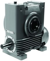 right angle worm gear reducer AM series Radicon