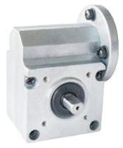 right angle worm gear reducer 1:5 - 1:36 | D604 series I.CH MOTION CO.,LTD