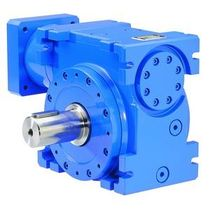 right angle worm servo-gear reducer Masterhelix series ZÜRRER