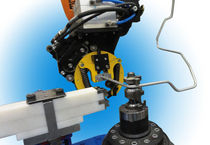 robotic cell for tube bending machine max. ø 16 - 42 mm | Tulip Roboflex Eaton Leonard