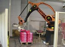 robotic palletizer: articulated type  Arodo - Total Bag Handling