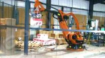 robotic palletizer: articulated type CASI cornerstone automation systems