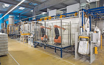 robotic powder coating system  Rippert Anlagentechnik GmbH & Co. KG