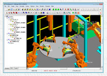 robotic process design and simulation software Workspace LT™ Flow Software Technologies