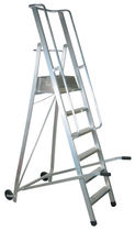 rolling ladder or mobile stepladder 175 - 350 mm | DELTA CARMECCANICA