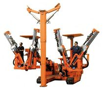 roof bolter Quadbolter Joy Mining Machinery