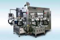 rotary automatic labeler (hot-melt glue, cold glue, pressure sensitive) Opera Combi Sacmi Labelling