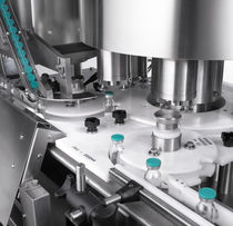 rotary crimp capping and screw capping machine CM Series Cozzoli Machine Company