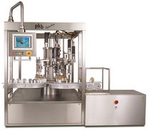 rotary filler and corking machine for liquids (cosmetic products, perfumes) Synchro PKB