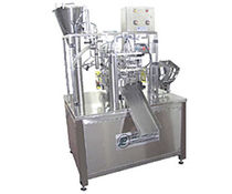 rotary filler for liquids and sealer for pre-formed tray max. 20 p/min | PDP-2M PackLine