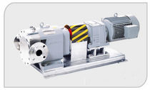 rotary lobe transfer pump max. 400 m&sup3;/h | TLS SERIES Durrex pumps co.,ltd