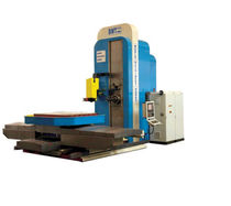 rotary table horizontal CNC boring milling machine 2500 x 1800 x 1800 mm | BMT 125 CNC ND WMW Machinery