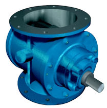 rotary valve for pneumatic conveying (round flange) 4'' - 24'' | RVC-R series Cyclonaire