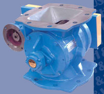 rotary valve for pneumatic conveying (round flange) MSRP Bush & Wilton