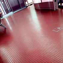 rubber floor covering 500 x 500 mm COBA Plastics Ltd