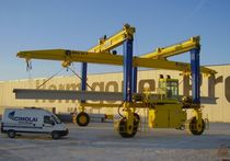 rubber tired gantry crane MST 65 - 10 CIMOLAI TECHNOLOGY SpA