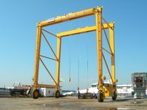 rubber tired gantry crane MST 60 - 5 CIMOLAI TECHNOLOGY SpA
