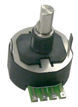 rugged contactless magnetic angular position sensor 360° | PSC360U Piher Sensors & Controls