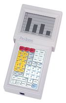 rugged hand-held terminal 16 x 32 char, max. 19 200 bps | ProTerm TWO TECHNOLOGIES