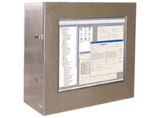rugged industrial panel PC 300 MHz - 1.8 GHz, 40 - 80 GB | MIL-STD-167 Industrial Computing