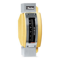 rugged metal tube variable area flow-meter Model P100 Series Parker Hannifin