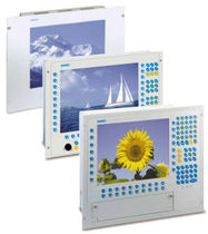rugged panel-mount flat panel monitor CBM-06TC | CBM-10TC WOHRLE