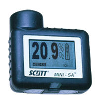 rugged personal single gas detector Mini-SA Scott Health & Safety