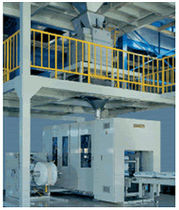 sachet filler and sealer for powders / granulates max. 1 650 p/h | 7CM-TS American Newlong