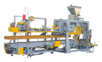 sachet filler and sealer for powders / granulates max. 230 p/h | 3CM-5G American Newlong