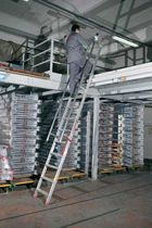 safety ladder 180 - 370 cm | SAS series  IMA Farone