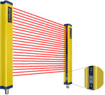 safety light curtain type 4: hand protection 100 - 1500 mm | ULCT Fiessler Elektronik