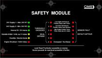 safety module for marine applications 24 V | CMR-SM  CONTROLE MESURE REGULATION